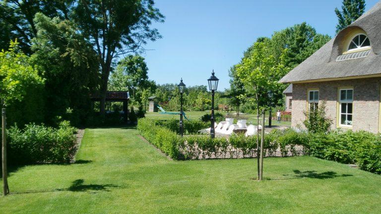 boerderij landelijk achtertuin