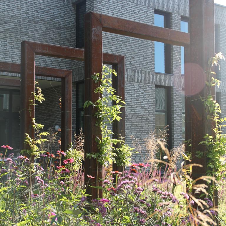 strak modern tuin