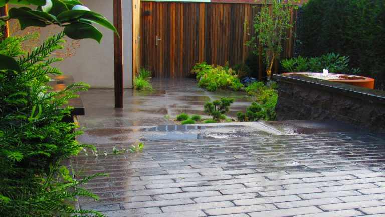 japanse tuin bestrating
