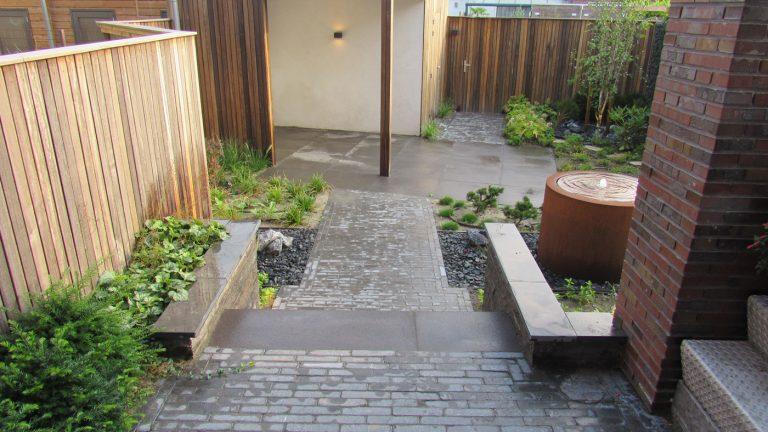 japanse tuin trappen