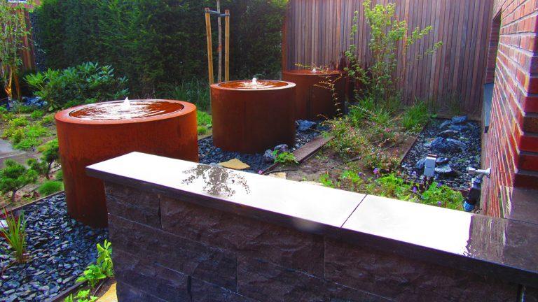 japanse tuin fontein