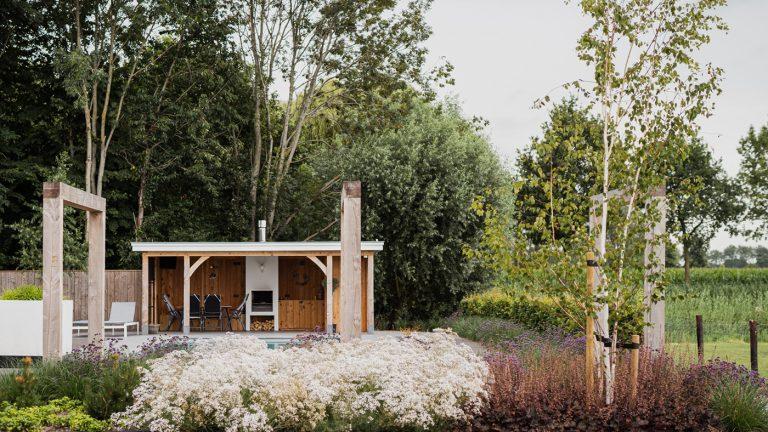 strak landelijk tuin tuinhuis