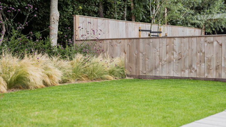 strak landelijk tuin gazon