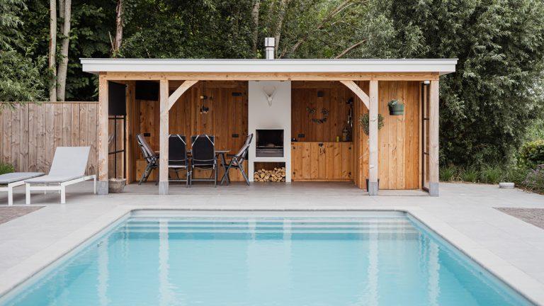 strak landelijk tuin zwembad